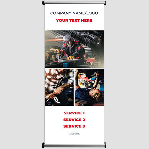 AUTOMOTIVE AND TRANSPORT BANNER